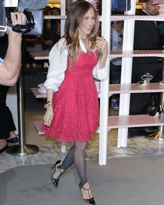 26 Times Sarah Jessica Parker Wore Her Own Shoes on the Red Carpet | Martha Stewart Weddings