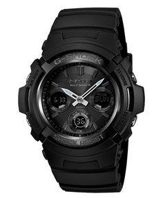 G-Shock Watch, Men's Analog Digital Black Resin Strap
