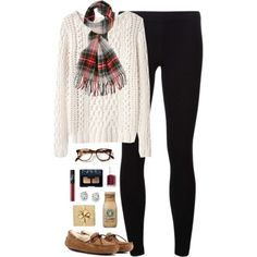 merry christmas eve & early xmas!! by classically-preppy on Polyvore featuring Band of Outsiders, James Perse, UGG Australia, Saks Fifth Avenue, Forever 21, NARS Cosmetics, Essie and H&M
