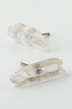 Rock Crystal Knob. Anthropologie