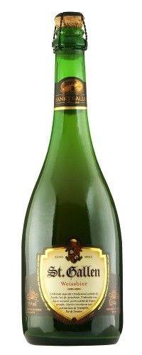 Cerveja St. Gallen Weissbier, estilo German Weizen, produzida por Cervejaria Sankt Gallen, Brasil. 5.5% ABV de álcool.