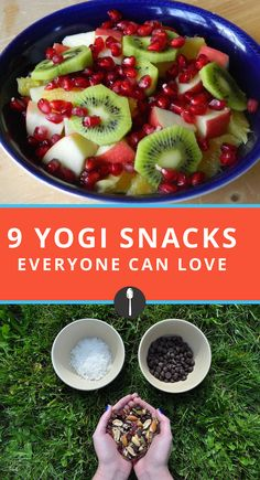 Healthy snacks for after any workout.