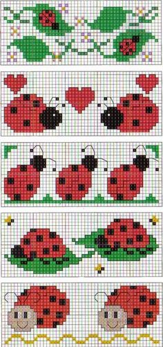 Brilliant Cross Stitch Embroidery Tips Ideas. Mesmerizing Cross Stitch Embroidery Tips Ideas. Bookmarks Kids, Crochet Bookmarks, Cross Stitch Bookmarks, Cross Stitch Cards, Cross Stitch Alphabet, Cross Stitching, Cross Stitch Embroidery, Cross Stitch For Kids, Cross Stitch Baby