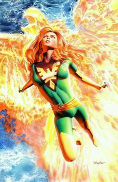 Phoenix by Mike Mayhew