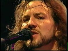 Pearl Jam - elderly woman behind the counter in a small town - Live Argentina - Eddie Vedder is the man...
