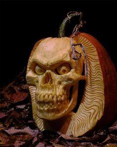 Calabaza esqueleto en DartyHalloween