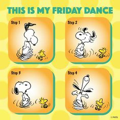 This is my Friday Dance