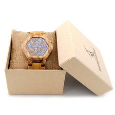 Cool Design Men's Wooden Night Vision LED Digital Watches Minimal Time Display | Features: Christmas Gift, Valentine Gift, Birthday Gift, Anniversary Gift