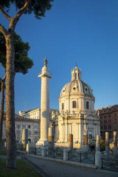 Rome, tranjan's column