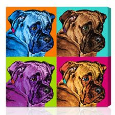 some andy warhol style pet pics ideas!