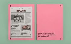 Enzo's on Branding Served