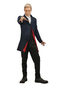 Doctor Who 12th Doctor Men's Costume Jacket