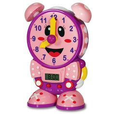 **Purchased** The Learning Journey Telly the Teaching Time Clock (Pink) The Learning Journey http://smile.amazon.com/dp/B002FAKYC2/ref=cm_sw_r_pi_dp_fmwwub14T6M1B