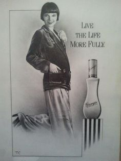 Lulu perfume! Louise Brooks, Old Hollywood Glamour, Hollywood Walk Of Fame, In Hollywood, Kansas, Sound Film, Vintage Advertisements, Vintage Ads, French Films