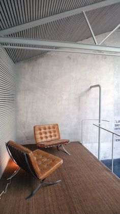 modern office space…love these chairs