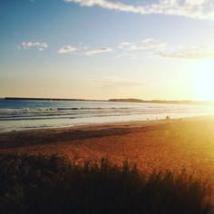 it's freezing cold but it's pretty!! #warrnambool #3280 #beach #sunset #lovewhereyoulive #australia by brookedani