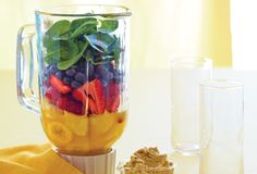 Learn how to build a better smoothie! <~I worked in a healthfood store with a smoothie bar in NYC for 4 yrs.I definitely know my way around a smoothie but wow! Yummy Drinks, Healthy Drinks, Get Healthy, Detox Drinks, Healthy Snacks, Yummy Food, Healthy Recipes, Healthy Fats, Yummy Recipes