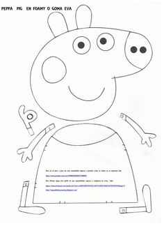 Here are the Interesting Peppa Pig Colouring Pages. This post about Interesting Peppa Pig Colouring Pages was posted under the Coloring Pages . Molde Peppa Pig, Peppa Pig Pinata, Peppa Pig Coloring Pages, Colouring Pages, Pig Birthday Cakes, 3rd Birthday Parties, Peppa Pig Familie, Pepper Pig Party Ideas, Familia Peppa Pig