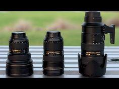 Nikon Holy Trinity of Lenses