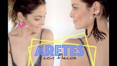 PASO A PASO: Aretes con flecos/flequillos (tassel earrings)| Miss Cucu