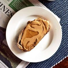 PB&HThis too easy go-to breakfast is something I've been eating since I was a kid. Spread peanut butter on toasted whole-grain bread and drizzle some honey on top. The peanut butter gets all melty and a little drizzle of honey makes it taste amazing. — Kate Taylor, Cookie and Kate