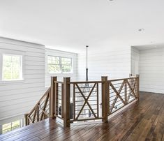 Home Interior Planning Projects. Need to make your house feel like new? Want to increase the appeal and sale ability of your house? It is easier and less expensive than it may seem. Farmhouse Stairs, Farmhouse Interior, Modern Farmhouse, Staircase Railings, Staircase Design, Bannister, Foyers, Apartment Decoration, Barn House Plans