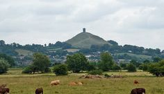 Glastonbury Tor....The Tor was probably once an island, hence its identification with the mysterious Island of Avalon, a place between the worlds, where tradition says that Arthur came to be healed of his wounds and to await his recall in a time of great need.
