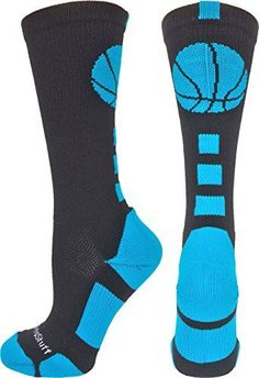 c7d7c02c39f Basketball Logo Crew Socks (Black/Electric Blue, Medium) ... https. Tween  Boy GiftsStocking Stuffers For ...