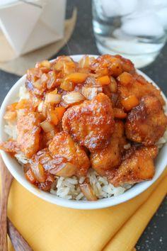 Sweet & Sour Chicken - Gluten Free
