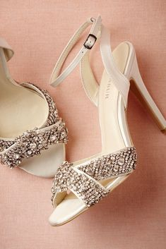 Complete your wedding day look with a pair of classic bridal shoes. BHLDN offers wedding heels that are as beautiful as they are comfortable, no matter your venue. Shop wedding shoes for the bride now! Sparkly Wedding Shoes, Bridal Shoes, Wedding Heels, Sparkly Shoes, Cute Shoes, Me Too Shoes, Awesome Shoes, Crazy Shoes, Beautiful Shoes