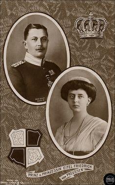 Prinz und Prinzessin Eitel Friedrich von Preußen, 1906 Prince Eitel married Duchess Sophia Charlotte of Oldenburg