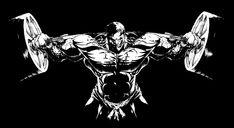 Musculação Bodybuilding Logo, Aesthetics Bodybuilding, Bodybuilding Motivation, Powerlifting Motivation, Gym Motivation, Football Player Drawing, Muscle Tattoo, Calisthenics Workout, Horse Logo