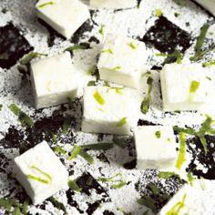 Limetti-vaahtokarkit