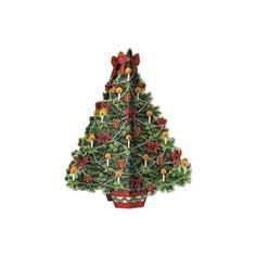 Christmas Tree Cardboard Table Centrepiece