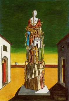 The Great Metaphysician, 1971 - Giorgio de Chirico - WikiArt.org