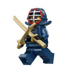 LEGO Minifigures Series 15 (12) Kendo Masters - Võ sĩ Kiếm đạo Nhật Bản