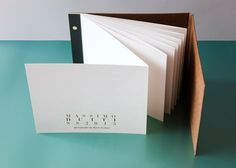 Ana Mirats - Concertina book with a fold over hardcover