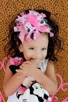 Miss Minnie Hot PInk...Over the Top Hair Bow...and by sanchezc30, $21.99