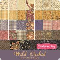 Wild Orchid Half Yard Bundle Reservation <br/>Blackbird Designs for Moda Fabrics