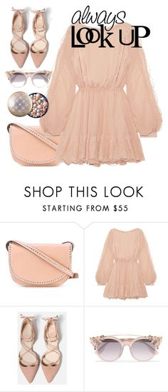 """""""Untitled #646"""" by pesanjsp ❤ liked on Polyvore featuring RED Valentino, LoveShackFancy and Jimmy Choo"""