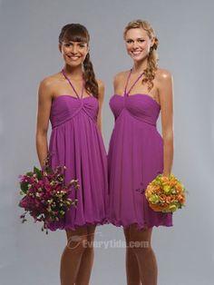My purple wedding - $103.99 Free Shipping - purple bridesmaid dresses in darker purple