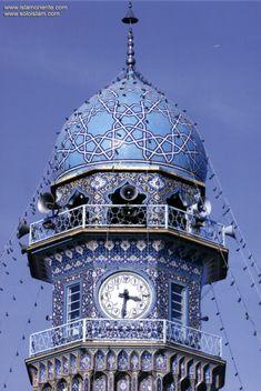 Santuario del Imam Rida (P) en la santa ciudad Mashhad - 1 | Galería de Arte Islámico y Fotografía