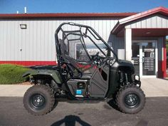 "Used 2015 Honda Pioneerâ""¢ 500 ATVs For Sale in Wisconsin. Compact. Fun. Affordable. The All-New Pioneerâ""¢ 500 The Pioneer 500 is a brilliant concept: Like a full-sized side-by-side, it lets you take a passenger along and has the off-road capability to get you where you need to go. But the Pioneer 500 is a new take on the SxS formula: it's narrow, fits on tight trails, is fun to drive, and easy to load into a full-size truck bed. But you still get a full-sized list of features, like…"