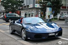 Ferrari F430 Spider in a flawless color combination