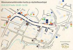 wuosisatamarkkinat-2019 Map, Location Map, Maps