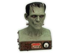 Universal Monsters Frankenstein VFX Bust LE 400 - Universal Studios Monsters Busts