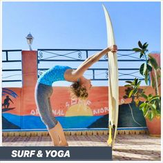 SURFING AND YOGA