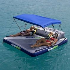 Aquaglide Airport Raft / Boat Tow Aquatop Canopy – Inflatable Fun in the Sun Lake Floats, Pool Floats, Raft Boat, Pontoon Boat Party, Deck Boat, Lake Toys, Floating In Water, Floating Lounge, Floating Mat