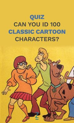 Can you name ALL these classic cartoon characters?