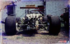 1968 France Grand Prix - ferrari Parking